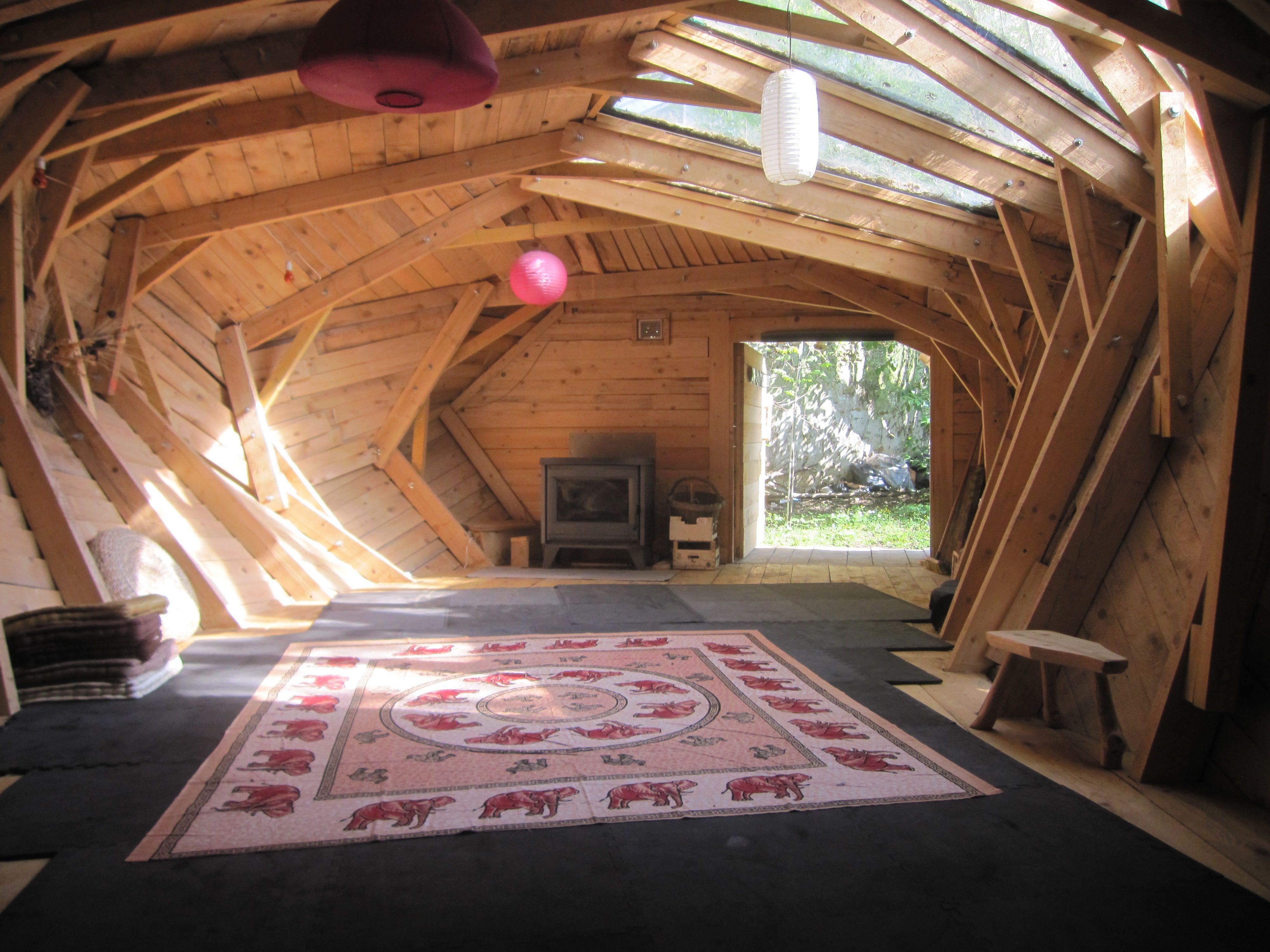 L uvre d un architecte propri t romantique for Chambre yoga